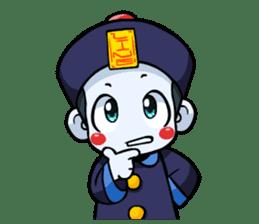 Jiang shi boy : Little Chinese Vampire sticker #7891893