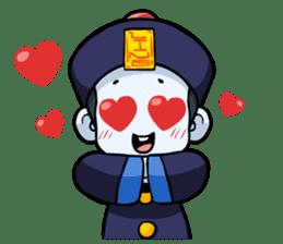 Jiang shi boy : Little Chinese Vampire sticker #7891901