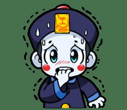 Jiang shi boy : Little Chinese Vampire sticker #7891903