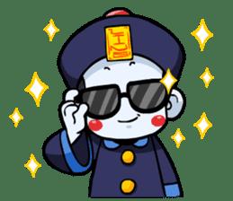Jiang shi boy : Little Chinese Vampire sticker #7891904