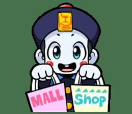 Jiang shi boy : Little Chinese Vampire sticker #7891910