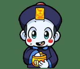 Jiang shi boy : Little Chinese Vampire sticker #7891913
