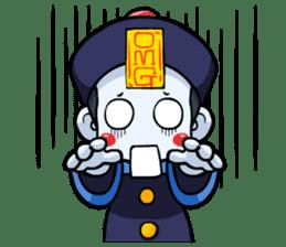 Jiang shi boy : Little Chinese Vampire sticker #7891914