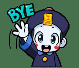 Jiang shi boy : Little Chinese Vampire sticker #7891923