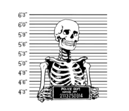 just bones4 sticker #7898843