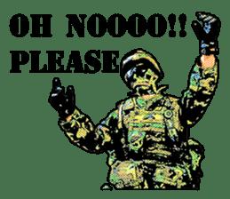 Combat soldier Ver.English sticker #7899431