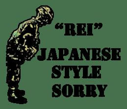 Combat soldier Ver.English sticker #7899433