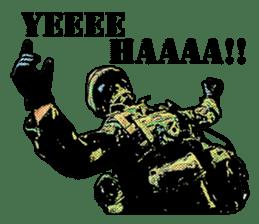 Combat soldier Ver.English sticker #7899436