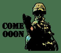 Combat soldier Ver.English sticker #7899437