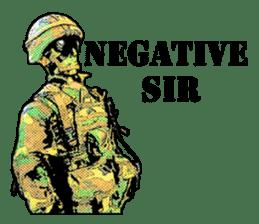 Combat soldier Ver.English sticker #7899439