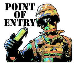 Combat soldier Ver.English sticker #7899443