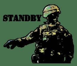 Combat soldier Ver.English sticker #7899445