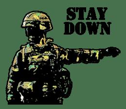 Combat soldier Ver.English sticker #7899447