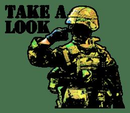 Combat soldier Ver.English sticker #7899448