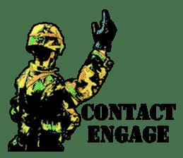 Combat soldier Ver.English sticker #7899449