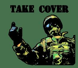 Combat soldier Ver.English sticker #7899450