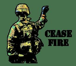 Combat soldier Ver.English sticker #7899452