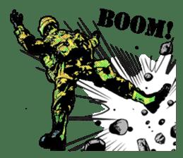 Combat soldier Ver.English sticker #7899453