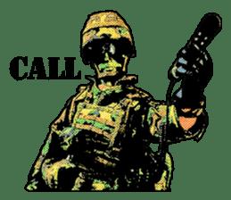 Combat soldier Ver.English sticker #7899454