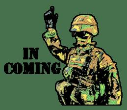 Combat soldier Ver.English sticker #7899456