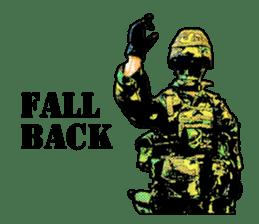 Combat soldier Ver.English sticker #7899459