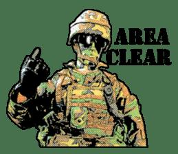 Combat soldier Ver.English sticker #7899461