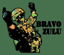 Combat soldier Ver.English sticker #7899463