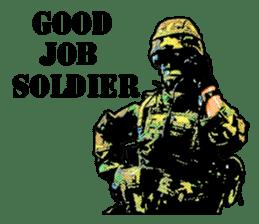 Combat soldier Ver.English sticker #7899464