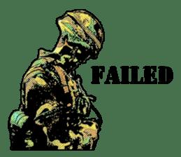 Combat soldier Ver.English sticker #7899466