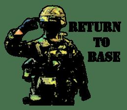 Combat soldier Ver.English sticker #7899467