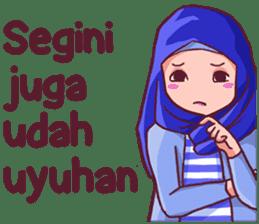 Euis Geulis Hijab Girl Sunda sticker #7906304
