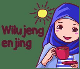 Euis Geulis Hijab Girl Sunda sticker #7906311