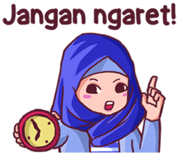 Euis Geulis Hijab Girl Sunda sticker #7906312