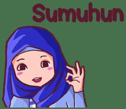 Euis Geulis Hijab Girl Sunda sticker #7906313