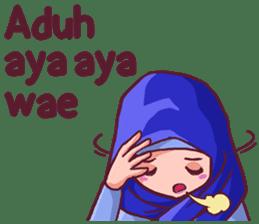 Euis Geulis Hijab Girl Sunda sticker #7906317