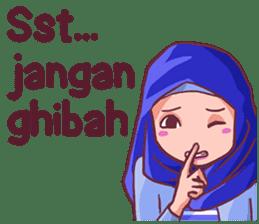 Euis Geulis Hijab Girl Sunda sticker #7906325