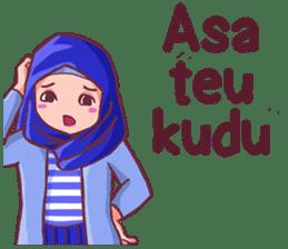 Euis Geulis Hijab Girl Sunda sticker #7906327