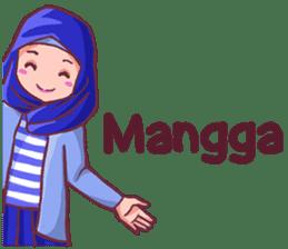 Euis Geulis Hijab Girl Sunda sticker #7906329