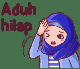 Euis Geulis Hijab Girl Sunda sticker #7906330