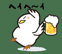 "White chicken ""DA where liquor is good"" sticker #7907460"