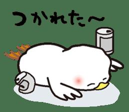 "White chicken ""DA where liquor is good"" sticker #7907469"