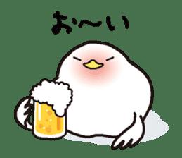 "White chicken ""DA where liquor is good"" sticker #7907478"