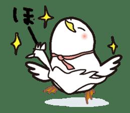 "White chicken ""DA where liquor is good"" sticker #7907493"