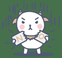 My cute goat sticker #7907782