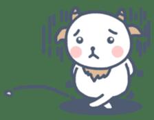 My cute goat sticker #7907785
