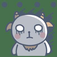 My cute goat sticker #7907787