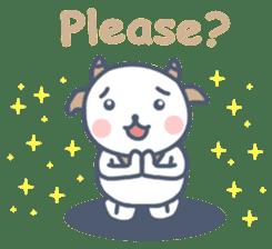 My cute goat sticker #7907792