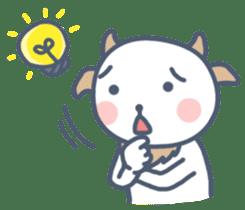 My cute goat sticker #7907798