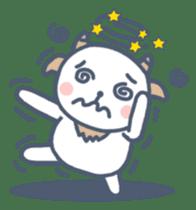 My cute goat sticker #7907801
