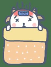 My cute goat sticker #7907802